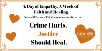 A Day of Empathy, A Week of Faith and Healing