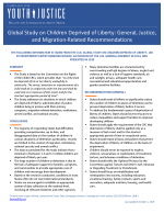 Fact Sheet: Global Study on Children Deprived of Liberty (2019)