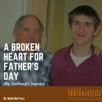 A Broken Heart for Father's Day: My husband's Journey