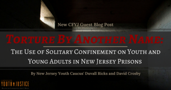 Torture By Another Name: The Use of Solitary Confinement on Youth and Young Adults  in New Jersey Prisons