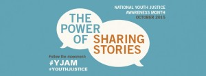 YJAM 2015 - The Power of Sharing Stories Banner