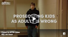 It's time to stop prosecuting kids as adults.