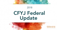 2018 Campaign For Youth Justice Federal Update