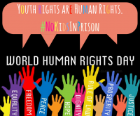 International Human Rights Day: Let's give our youth the human rights they deserve.